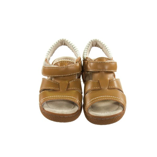 LIVIE & LUCA LIGHT BROWN SANDALS *SIZE TODDLER 7, EUC