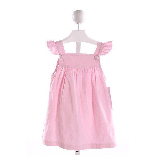 HANNAH KATE  LT PINK CORDUROY   DRESS WITH RUFFLE